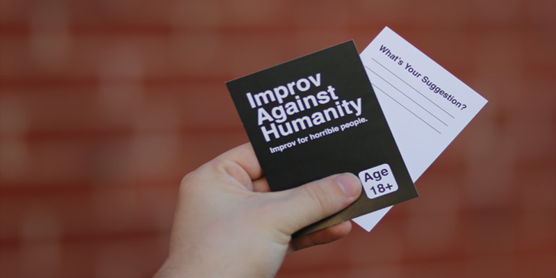 Permalink to: Improv Against Humanity