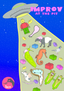 Improvisation Comedy at Tickle Pit poster image